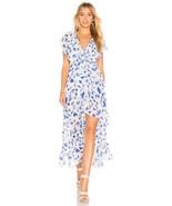 NWT ANTHROPOLOGIE VERO THESA FLORAL WRAP MAXI DRESS by MISA XS - $227.99
