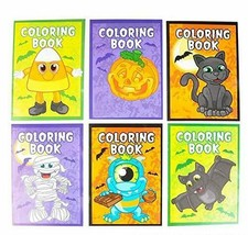 Halloween Coloring Books Pack of 12 - $8.99
