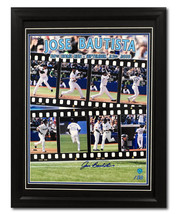 Jose Bautista Toronto Blue Jays Signed 50th Homerun Filmstrip 22x26 Fram... - $310.00