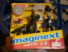 Fisher-Price Imaginext Knight and Wolf Set NEW IN BOX 2012 Complete Pack... - $29.99