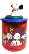 SNOOPY Mascot Jar Plastic Case Ver,1 From Japan - $37.39