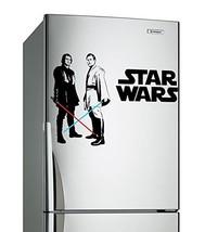 (24'' x 16'') Star Wars Vinyl Wall Decal / Obi Wan Kenobi & Anakin Skywalker wit - $21.75