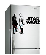 (24'' x 16'') Star Wars Vinyl Wall Decal / Obi Wan Kenobi & Anakin Skywa... - $21.75