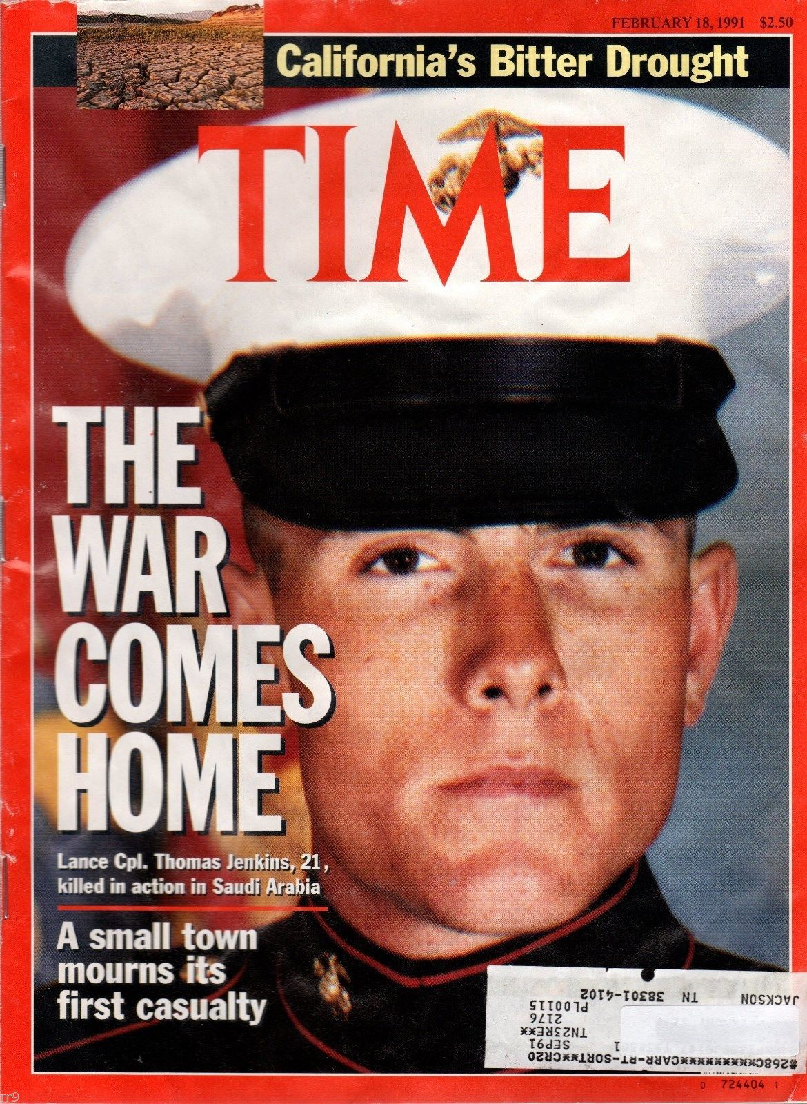 Primary image for Time Magazine - February 18, 1991