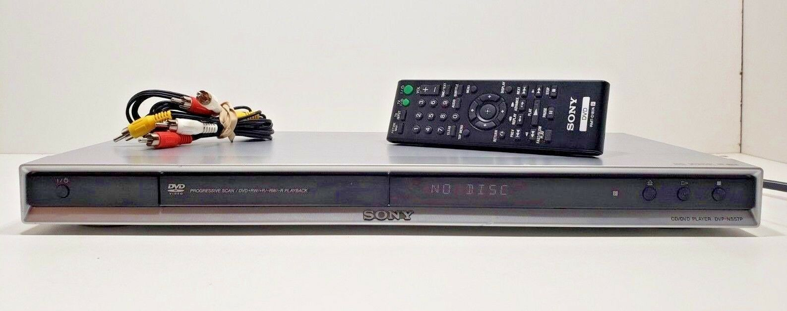 Sony CD/DVD Player DVP-NS57P with Remote... Tested