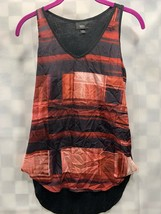Mossimo Tank Red Plaid Top Women's Size XS NEW NWT - $9.40