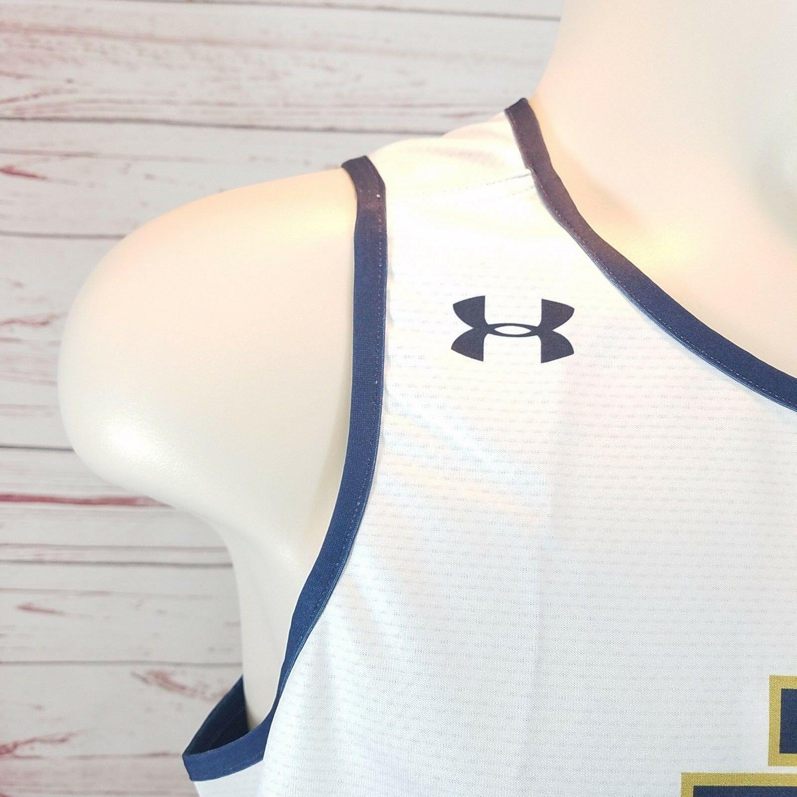 Notre Dame Fighting Irish Women's Team Reversible Basketball Practice Jersey LG