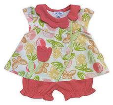 Le Top Baby Girls Tulip Short Set  - $25.00