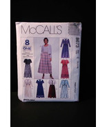 Vintage pattern, McCall's 8673, women's dresses and jacket, 1997, uncut - $6.00