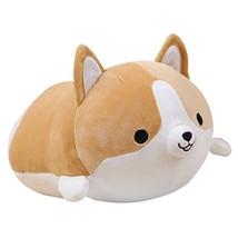 Levenkeness Corgi Dog Plush Pillow, Soft Cute Shiba Inu Akita Stuffed A... - $29.99
