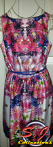 New with tags! Liz Claiborne Summer dress/Graduation/Mother's day/ Flora... - $14.44