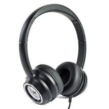 Monster N-Tune High Performance On-Ear Headphones w/3.5mm Plug(Black) - $35.56