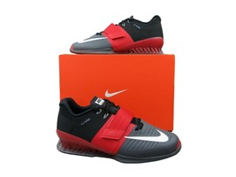 Nike Romaleos 3 Weightlifting Crossfit Trainers Grey Red 852933 600 Mult... - $106.91+