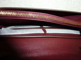 NWT Tory Burch Claret Fleming Wallet Cross Body Bag $328 image 7