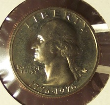 1976-S DCAM Clad Proof Washington Quarter PF65DC #205 - $3.99