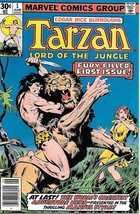 Tarzan Lord of the Jungle Comic Book #1, Marvel Comics 1977 NEAR MINT - $21.21