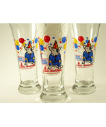 Bud Light Spuds MacKenzie Party Animal Pilsner Beer Glass Budweiser 1987 - $7.99