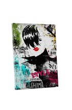 "Pingo World 0711QOBR96Y ""High Collar III Fashion Clip"" Gallery Wrapped Canvas Wa - $53.41"