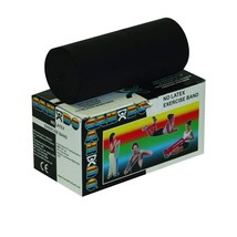 Cando 10-5615 Black Latex-Free Exercise Band, X-Heavy Resistance, 6 yd L... - $19.68