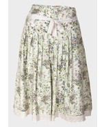 LC Waikki Ladies Floral Summer Skirt Lace Trimmed 8, 10, 12, 14, 16 NEW - $6.14