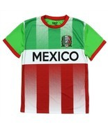 STRIKE FORCE Boy's Mexico Soccer Jersey - $7.99
