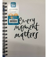 Pen+Gear 200 Pages Hardcover Wirebound Journal Every Moment Matters White - $14.84