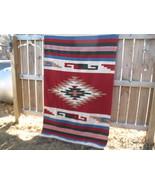 El Paso Southwestern weave Woven wool textile r... - $110.00