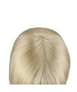 Remy Hair Topper Crown Hair Piece #613 12*6cm Crown For Women Mono Clip ... - $60.89+