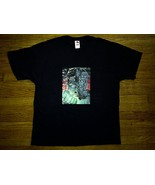 Fruit of the Loom Green Lantern Urban Black RARE Tee T-Shirt Extra Large XL - $4.99