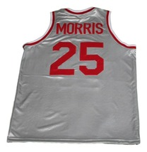 Zack Morris #25 Bayside Saved By The Bell New Basketball Jersey Grey Any Size image 2