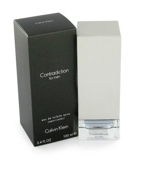 Primary image for Contradiction by Calvin Klein EDT spray for Men 3.3oz / 100ml, New in Sealed Box