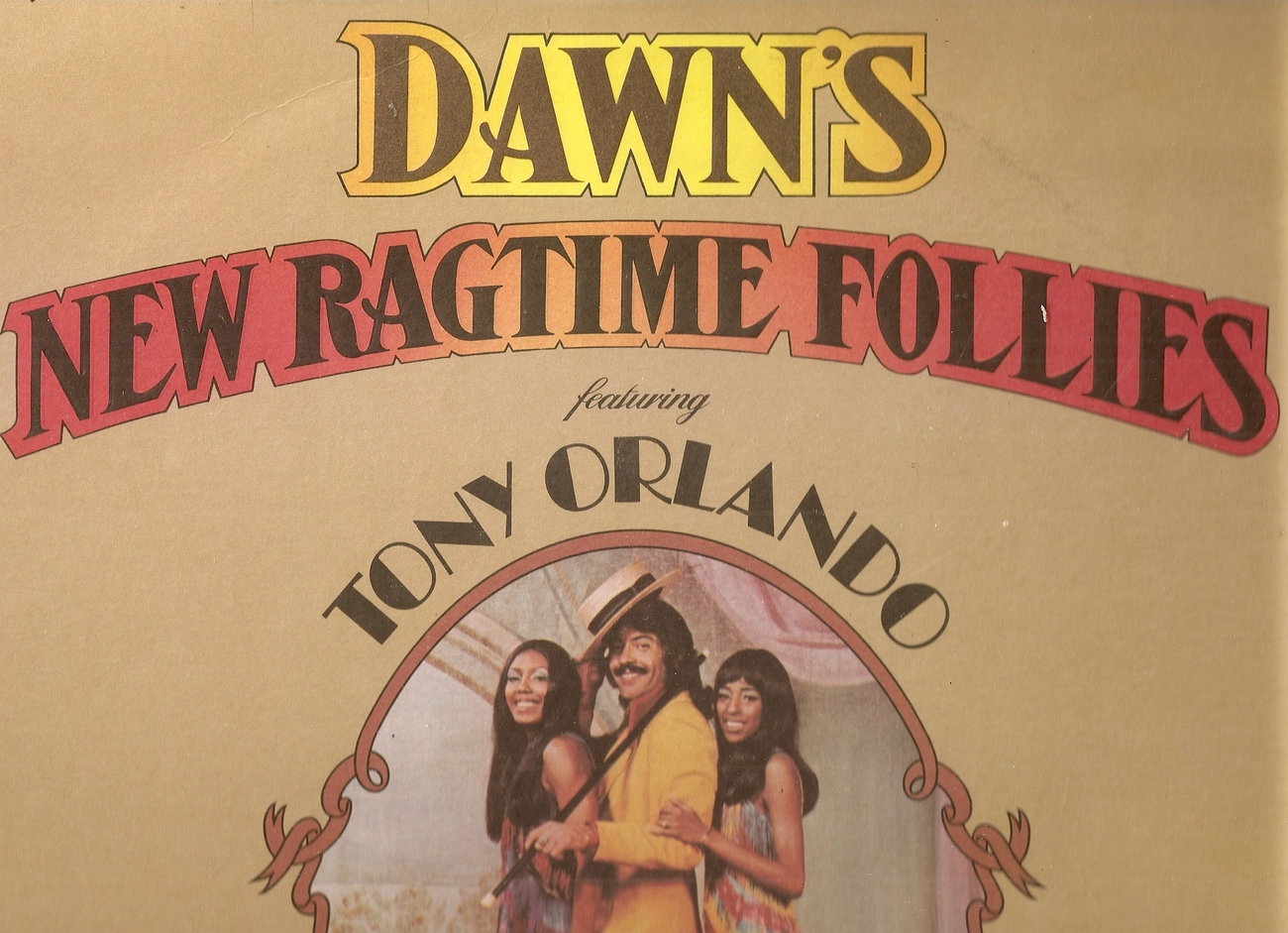 Primary image for lp--Tony Orlando 	-	 New Ragtime Follie