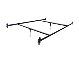 Full Size Hook on Bed Frame Rails with 2 Cross Beams and 2 Legs - $107.91