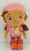 "Disney IZZY Plush Doll GIRL PIRATE 12"" JAKE & the NEVERLAND PIRATES Disn... - $9.99"