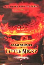 2000 LITTLE NICKY Movie POSTER 27x40 Motion Picture Promo Adam Sandler - $17.99