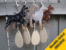 Doberman Pinscher Deluxe dog crate tag, hang anywhere ornament, pick your color - $27.00