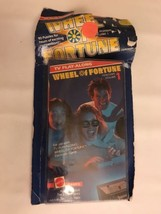 Vintage 1988 Wheel Of Fortune TV Play Along Game VHS Tape - $20.99