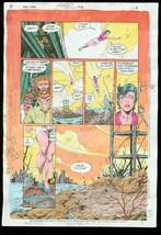 New Titans #78 Production Art Dc Color Guide - $357.69