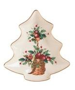 Lenox Holiday Tartan Tree Candy Dish  - $43.00