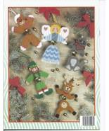 Jingle Bell Buddies Plastic Canvas Patterns - $5.99