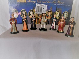 Miniature Set Henry VIII and His Six Wives, by HRP, in Original Box - $350.00