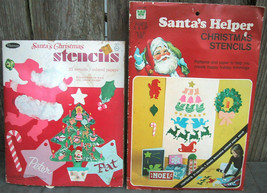 Whitman Vintage Christmas Stencil Books - $12.99