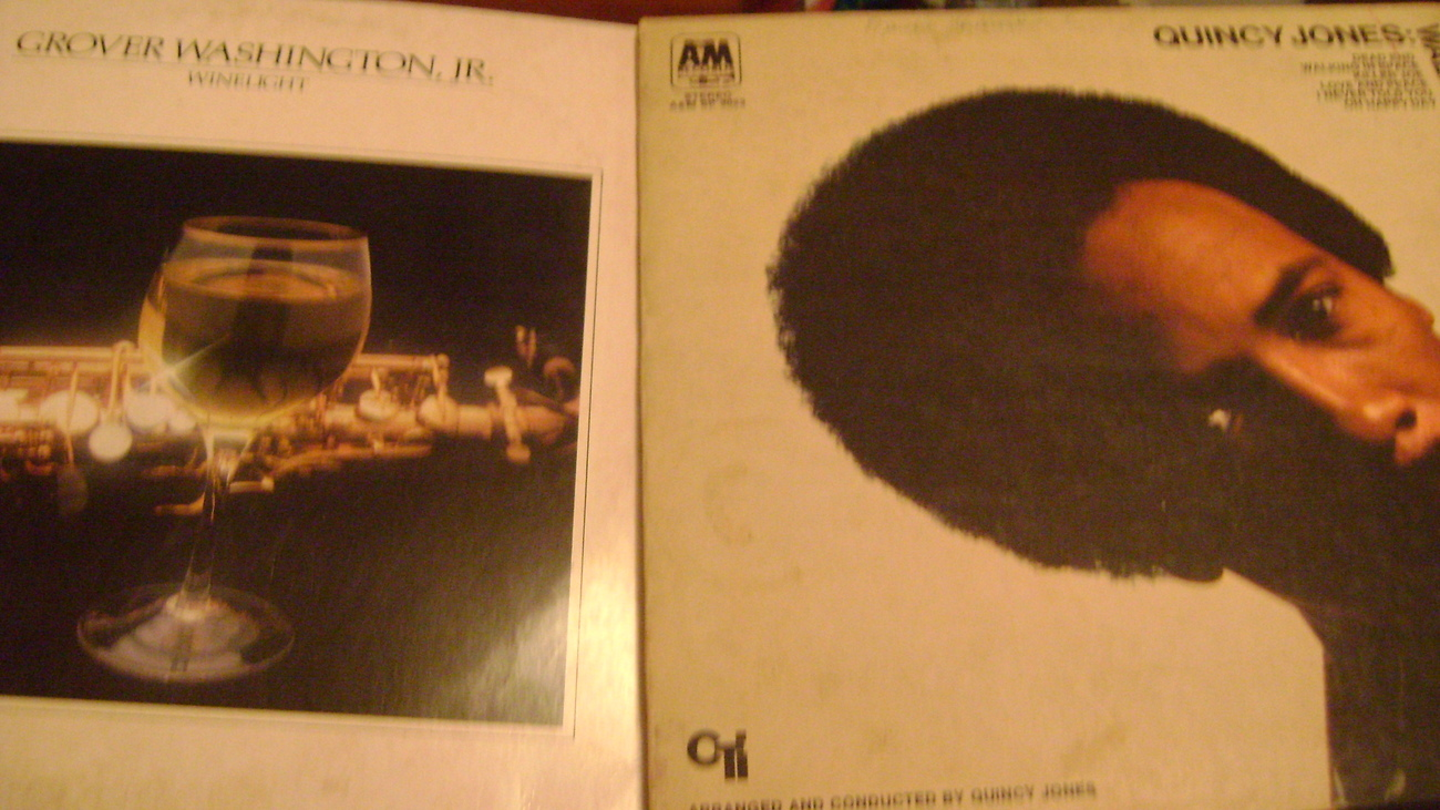 Qjincy Jones and Grover Washington, Jr LP's