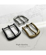 """Single Prong Metal Buckle Replacement buckle fits 1-3/8""""(35mm) Belt Strap - $10.85"""