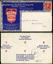 Rathbone, Sard & Co Acorn Stoves & Ranges 1904 Advertising Cover - Stuar... - $75.00