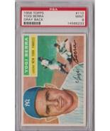 1956 Topps Yogi Berra Gray Back #110 PSA 9 P421 - $2,554.88
