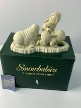 Department 56 SNOWBABIES I Can't Find Him #68800 RETIRED Angel Babies & ... - $24.99