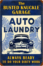 """BNG Auto Laundry Metal Sign (24"""" by 16"""") - $45.00"""