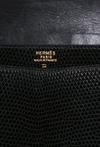 Vintage Hermes Lydie Lizard Skin Shoulder Bag image 7