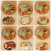 """Starbucks Set of 6 Collectable Dessert Plates Leadership Conference 2005- 6""""D - $69.29"""